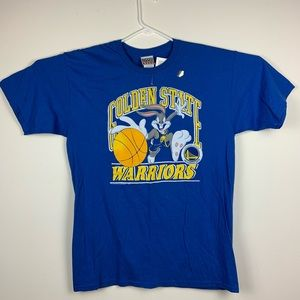 Golden State warriors Space Jam Bugs Bunny T-Shirt